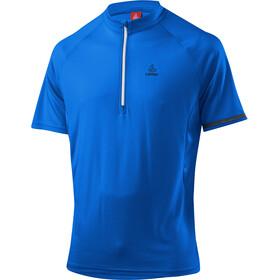 Löffler Vienna Fietsshirt korte mouwen Heren blauw